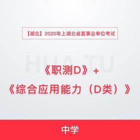【湖北】2020年上湖北省直事业单位考试《综合应用能力+职业能力倾向测验》D类(中学)