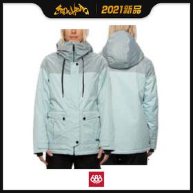 686 2021新品预售 Treasure Insulated Jacket 女款 滑雪服