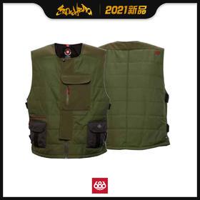 686 2021新品预售 Torque Insulated Vest 男款 马甲