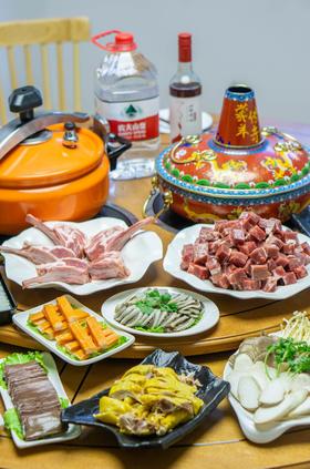 「蒙羊传奇•冰块煮羊」原价289元2-3人餐,特价178抢购!
