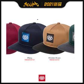686 2021新品预售 Knockout Snapback Hat 平沿帽
