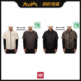 686 2021新品预售 Primaloft Reversible Short Sleeve Jacket