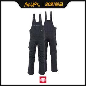 686 2021新品预售 Hot Lap Insulated Bib 男款 背带裤