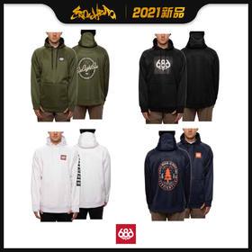 686 2021新品预售 Bonded Fleece Pullover Hoody 男款 卫衣
