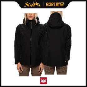 686 2021新品预售 MULTI GORE-TEX Paclite Shell Jacket 女款 滑雪服