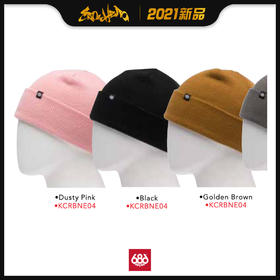 686 2021新品预售 Standard Rollup Beanie (Singles) 滑雪冷帽