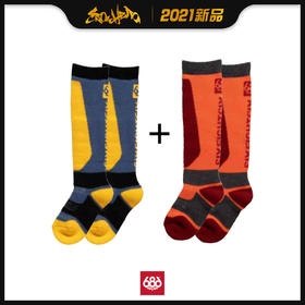 686 2021新品预售 Strike Sock 童款 滑雪袜