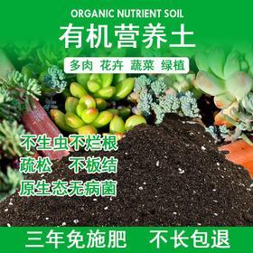 花土营养土种植土通用型多肉营养土绿萝专用土花泥种菜种花营养土