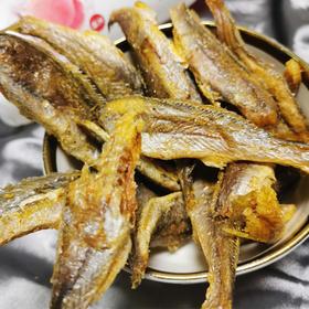 【网红黄鱼酥】香酥小黄鱼干黄花鱼干货零食休闲小吃特产零食即食碳烤酥脆