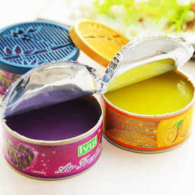 固体空气清新剂 5个装(香味随机) 家用清香剂香薰厕所汽车除臭除味卧室内