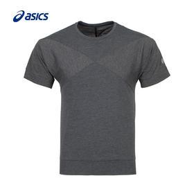 【特价】Asics亚瑟士 男式拼色运动短袖T恤