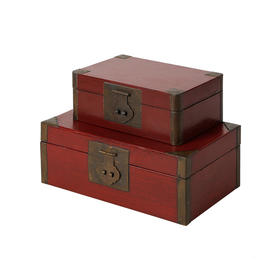 红包角皮盒盒子摆件装饰品