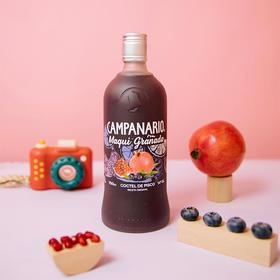 [卡裴娜莓果味利口酒]智利国酒皮斯科 原瓶进口 700ml