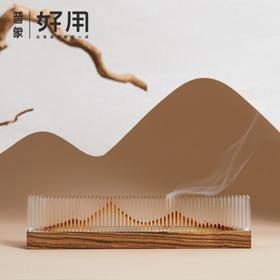 这个香器里藏着一座山