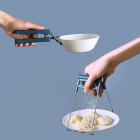 【防烫夹】*防烫夹夹盘子抓子碗夹家用厨房神器蒸夹取盘器防滑蒸锅提