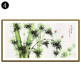 中国工笔画研究会会员陈浩墨竹图/翠竹图 4号