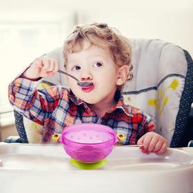 兔头妈妈 吸盘碗2件套