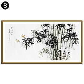 中国工笔画研究会会员陈浩墨竹图/翠竹图 8号