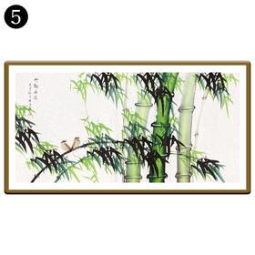 中国工笔画研究会会员陈浩墨竹图/翠竹图 5号