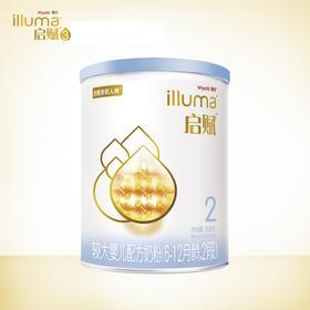 【蓝钻】启赋较大婴儿配方奶粉2段350g