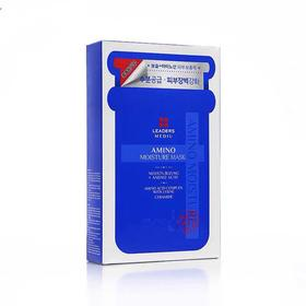 LEADERS/丽得姿补水玻尿酸保湿氨基酸面膜补水10片/盒
