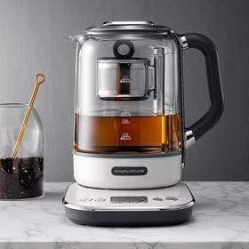摩飞多功能升降煮茶器办公室全自动小型养生壶家用大容量花茶壶