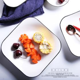 【餐盘】陶瓷盘子 创意酒店餐具西餐盘咖啡甜品盘礼品碗盘碟