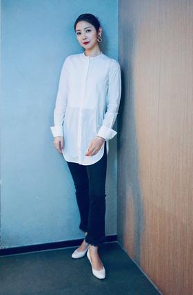 现货/Maison Covet 自有品牌 中性立领设计感长衬衫