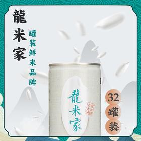 龙米家 稻花香 经典罐 32罐装