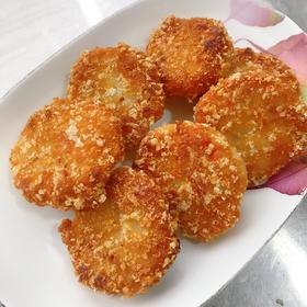 【闽家飨】预炸 墨鱼虾饼360g