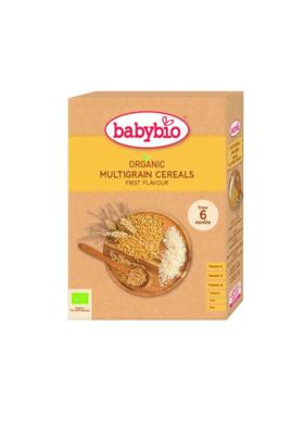伴宝乐有机婴幼儿果味米粉/多种谷物麦粉