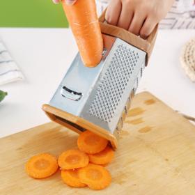 【刨丝器】多功能六面削皮器 多用不锈钢刨丝器创意款厨房切菜器