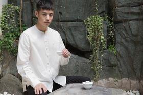 鸣虫 · 刺绣男式衬衣