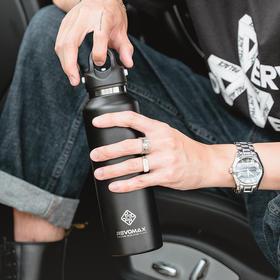 【抖音爆款】Revomax单手一秒杯保温杯 便携车载运动户外
