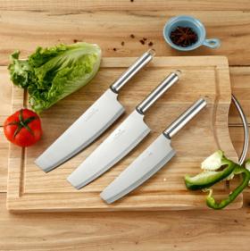 【菜刀】不锈钢厨用刀菜刀家用多功能厨房切菜切肉小厨刀