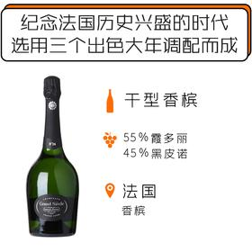 "罗兰百悦盛世香槟【无礼盒】 Laurent-Perrier ""Grand Siècle"" Iteration N°24"