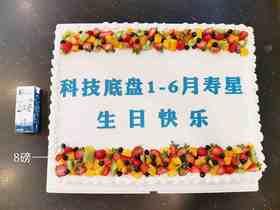 庆典大蛋糕(图案可更改)