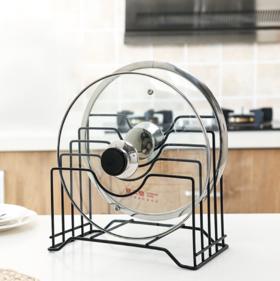 【锅盖架】多层锅盖架 多功能铁艺支架厨房客厅收纳置物架放锅盖架子砧板架