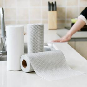 【抹布】厨房一次性抹布 不粘油不掉毛吸水洗碗巾 家用多功能清洁布洗碗布