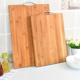 【菜板】厨房切菜板 实木大号防霉案板长方形加厚整竹砧板