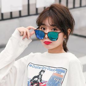 新款Healbud墨镜女GM同款网红款偏光潮防紫外线方框时尚太阳眼镜