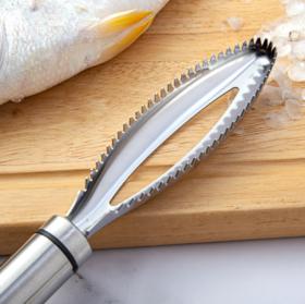 【鱼鳞刨】304不锈钢鱼鳞刨刮鳞器家用手动打鳞杀鱼刷刀厨房小工具去鳞神器