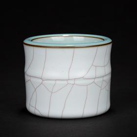 许继武·含玉竹节杯