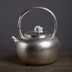 珠圆玉润银壶