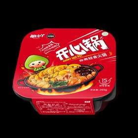 阿敏开心锅,麻辣鲜香自煮轻食火锅
