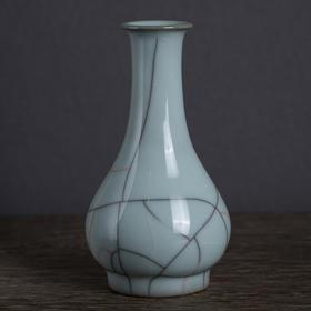 陈烈汉·银河铁胎月白瓶