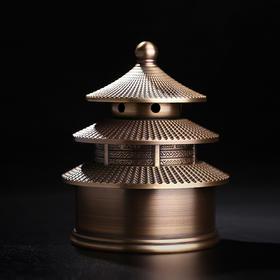 铜天坛香炉