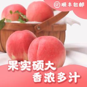 四川龙泉水蜜桃水果新鲜大果6粒装礼盒超甜大桃子顺丰空运包邮