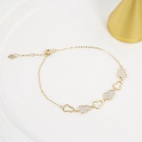 925银 葫芦手链 幸福