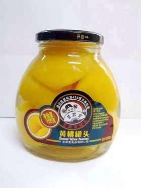 芝麻官糖水黄桃罐头930g